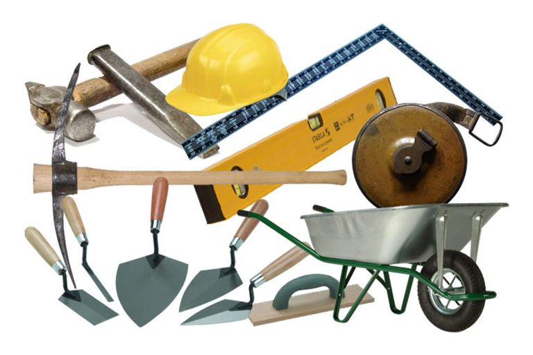 لوازم و ابزار بنایی و ساختمانی